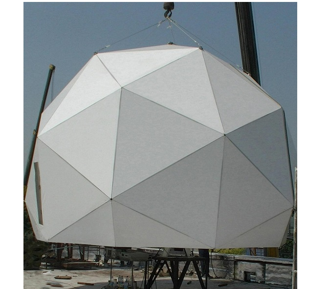 5.9m Metal Space Frame Radome