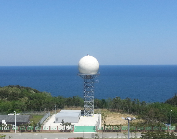 12m radome in Korea