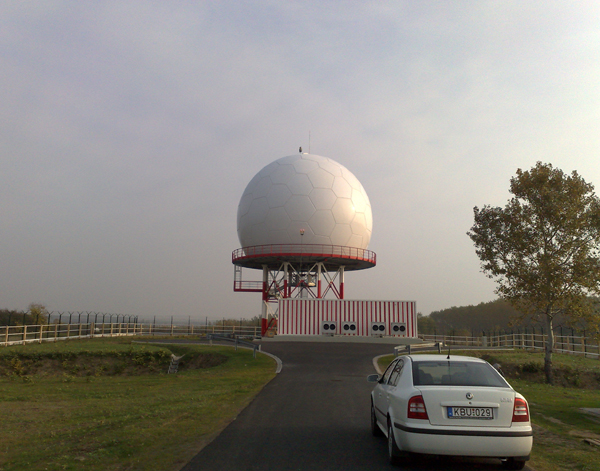15m radome in Hungry