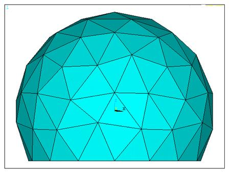 12m Metal Space Frame Radome